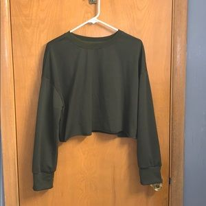 SHEIN Cropped Long Sleeve